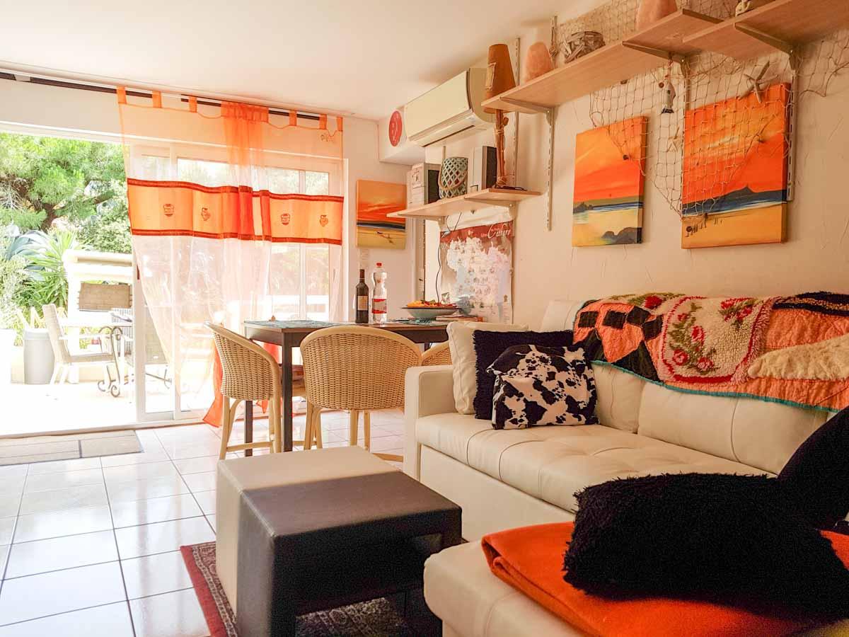 salon salle à manger canapé