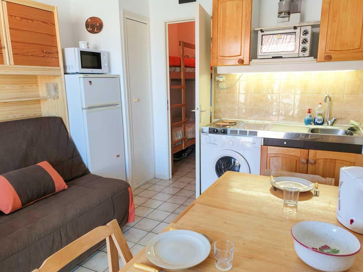 Salle à manger cuisine canapé